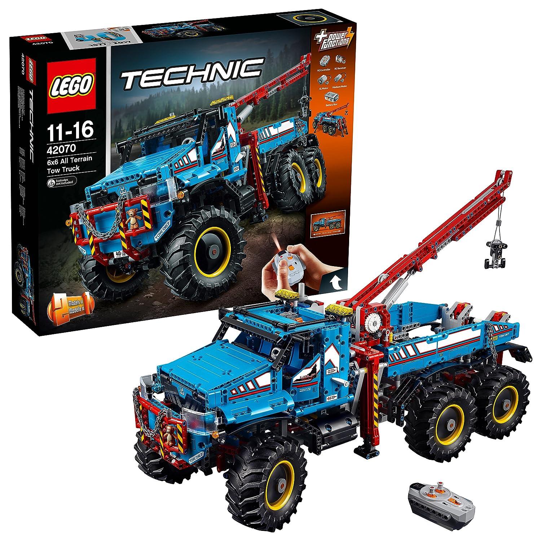 Lego 42070 Technic 6 X 6 All Terrain Tow Rc Truck Toy Motor Kit 2