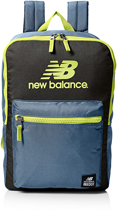New Balance Adult Booker Backpack, RiptideBlack, One Size