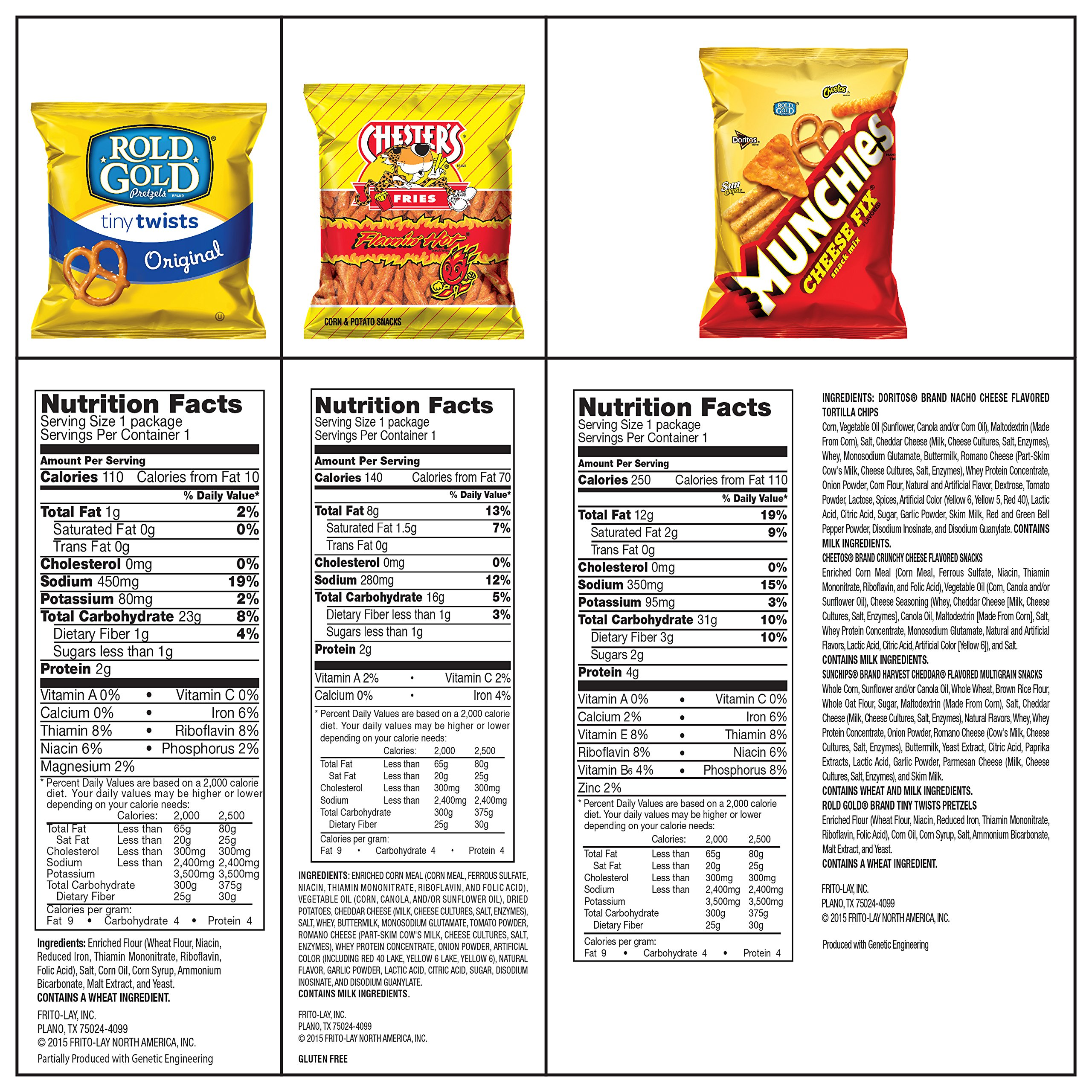 Ultimate Snack Care Package, Variety Assortment of Chips, Cookies, Crackers & More, 40 Count by Frito Lay (Image #4)