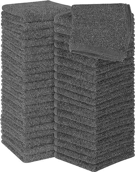 Utopia Towels 30 x 30 cm, Blanco 12 Toallitas de algod/ón de Lujo