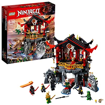 LEGO NINJAGO Temple of Resurrection 70643 Building Kit (765 Piece): Toys & Games