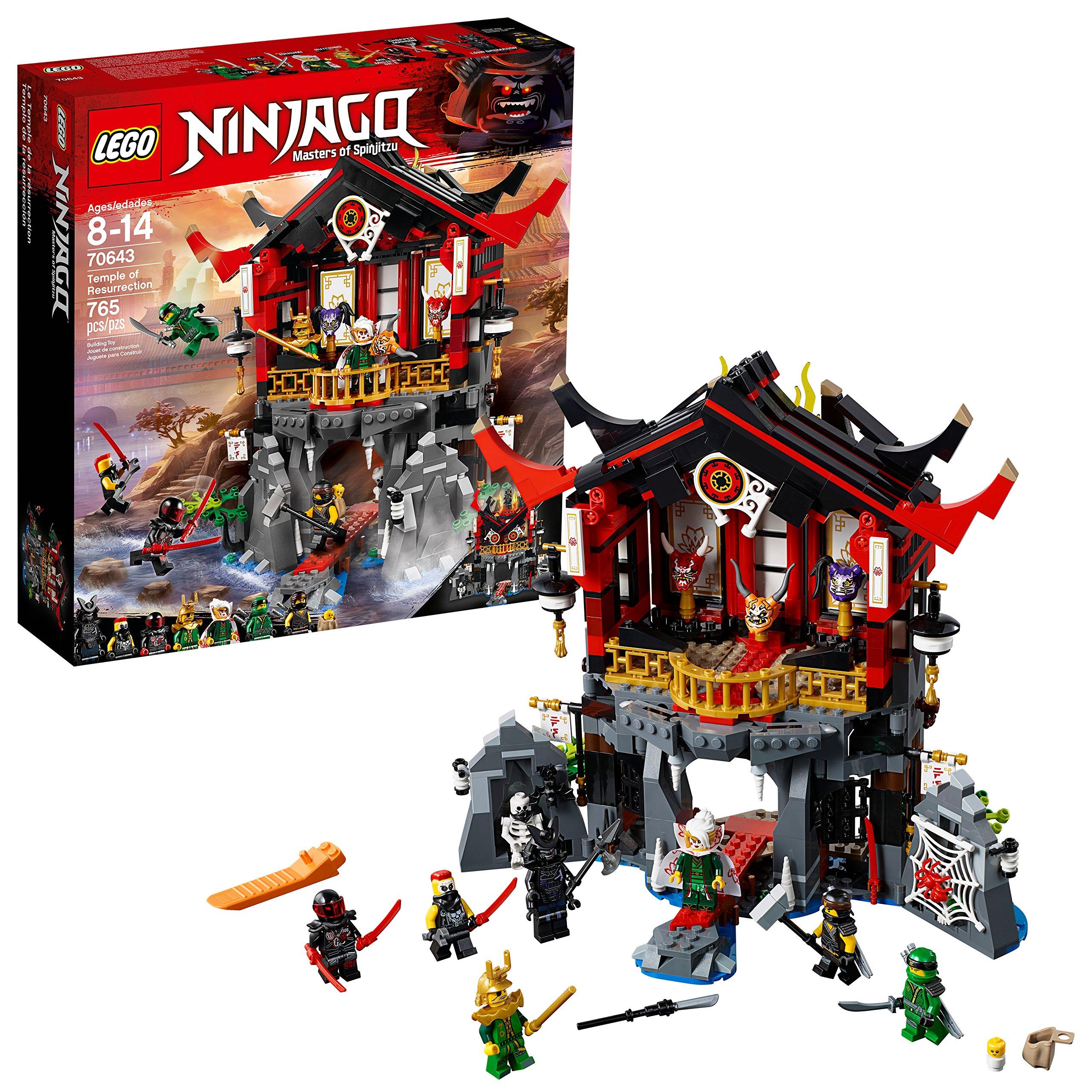 LEGO NINJAGO Temple of Resurrection 70643 Building Kit (765 Piece)