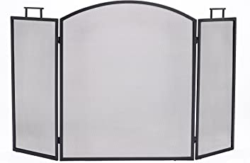 fireplace screens with doors. Pleasant Hearth Classic 3 Panel Fireplace Screen Screens With Doors