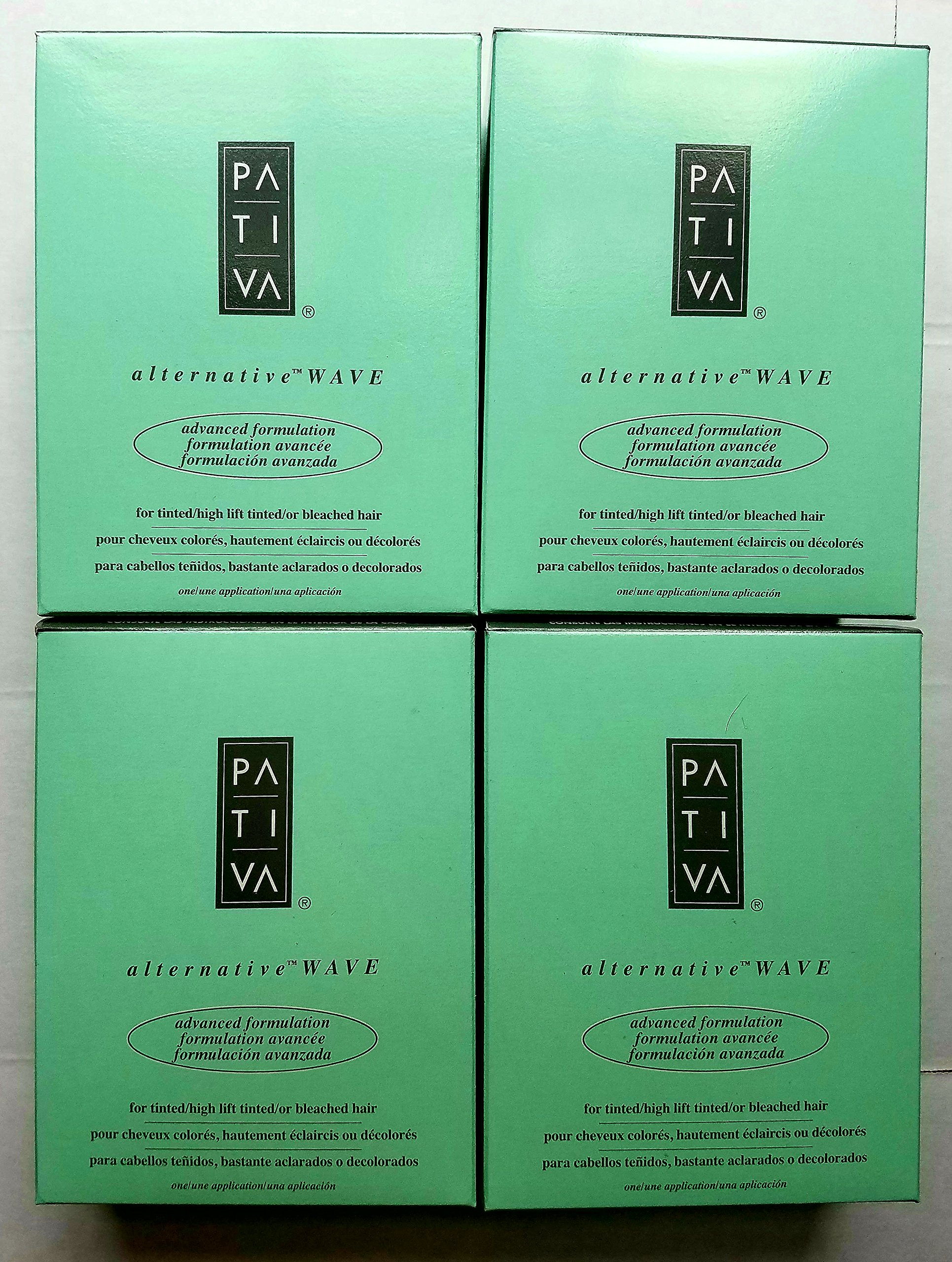 Nucleic-A PATIVA Alternative Wave Advanced Formulation Perm for Tinted/High Lift Tinted/or Bleached Hair - 4 Pack!