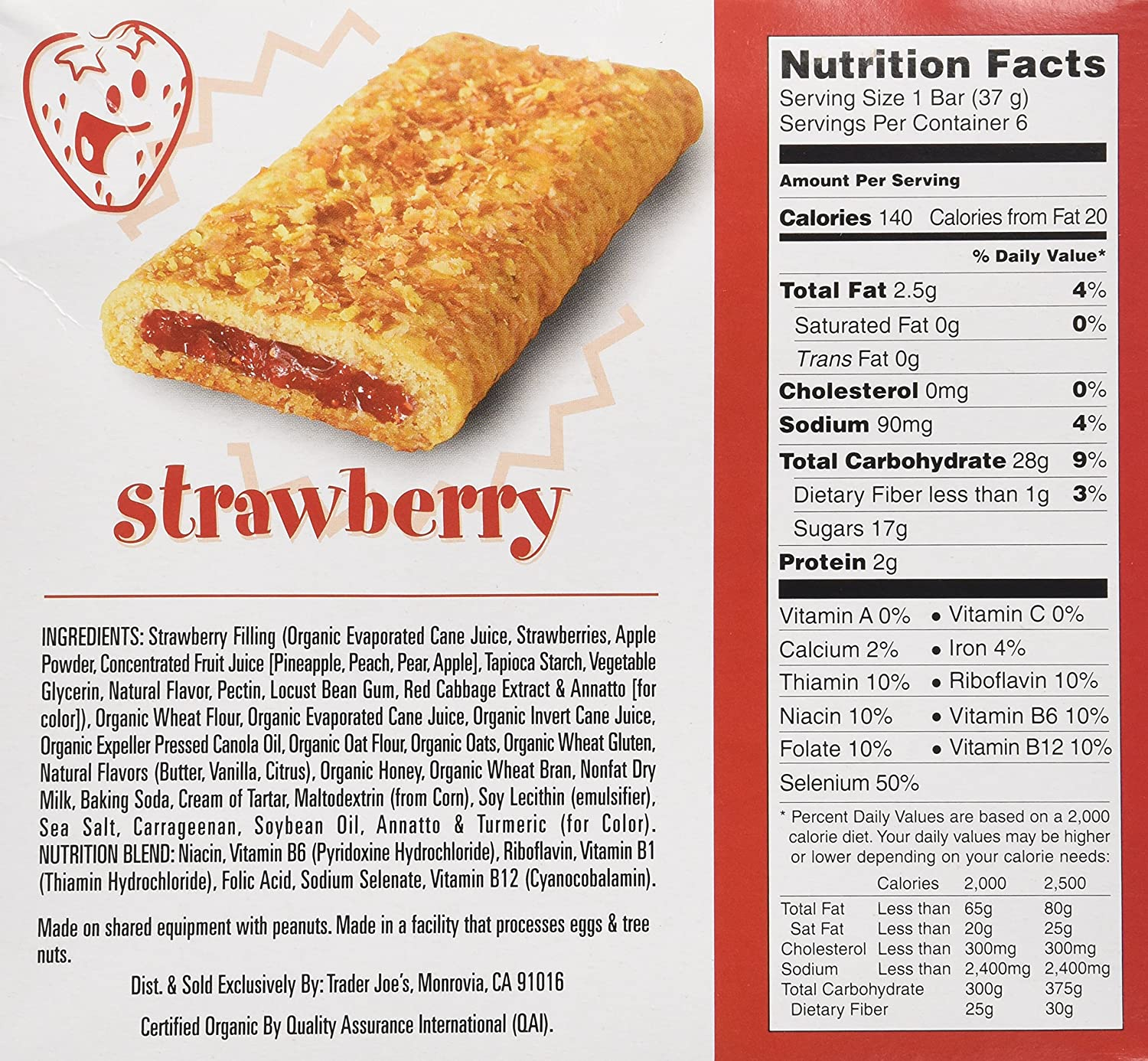 Amazon.com: Trader Joe\'s This Strawberry Walks Into a Bar Cereal ...