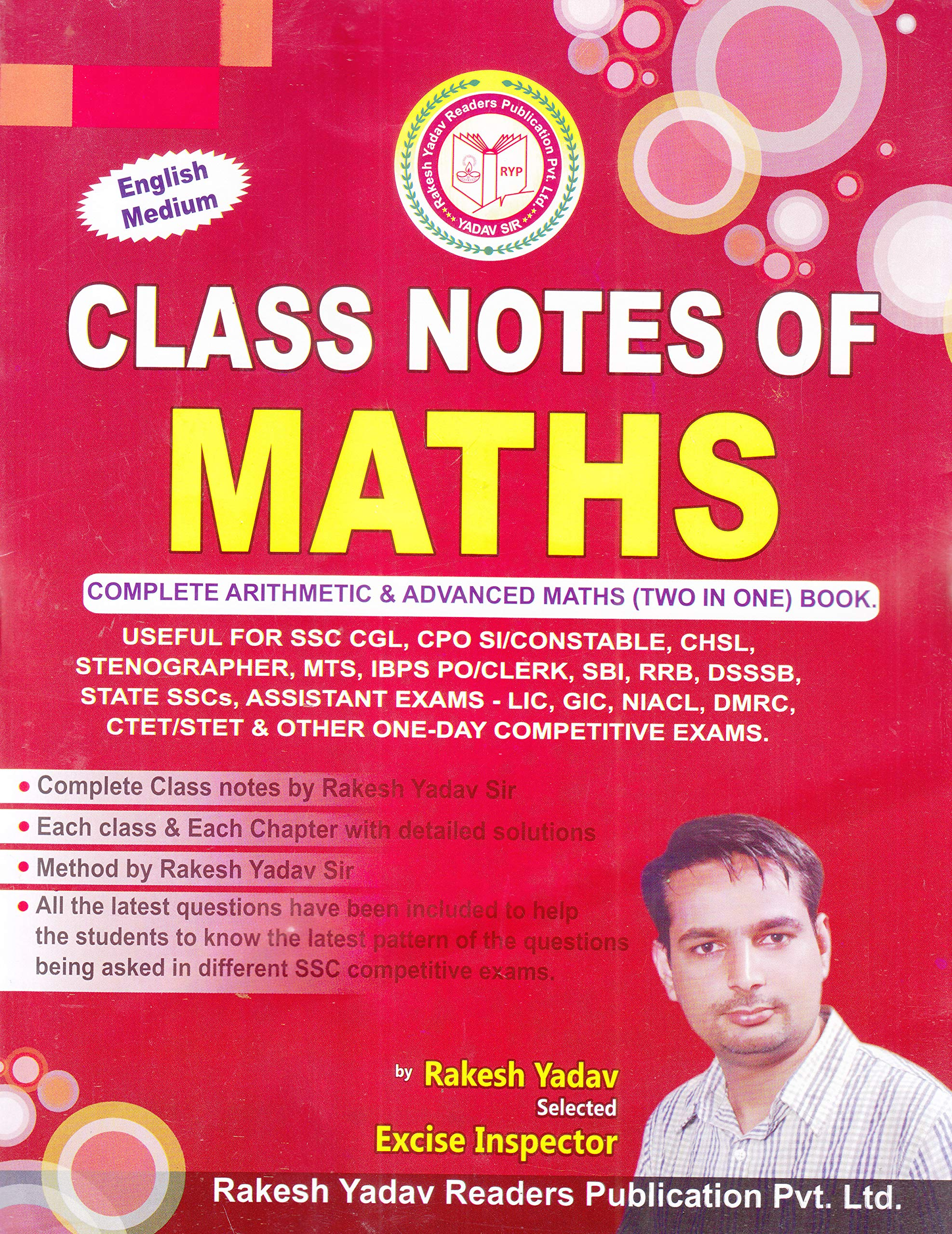 Buy Class Notes of Maths (Complete Arthematic & Advanced