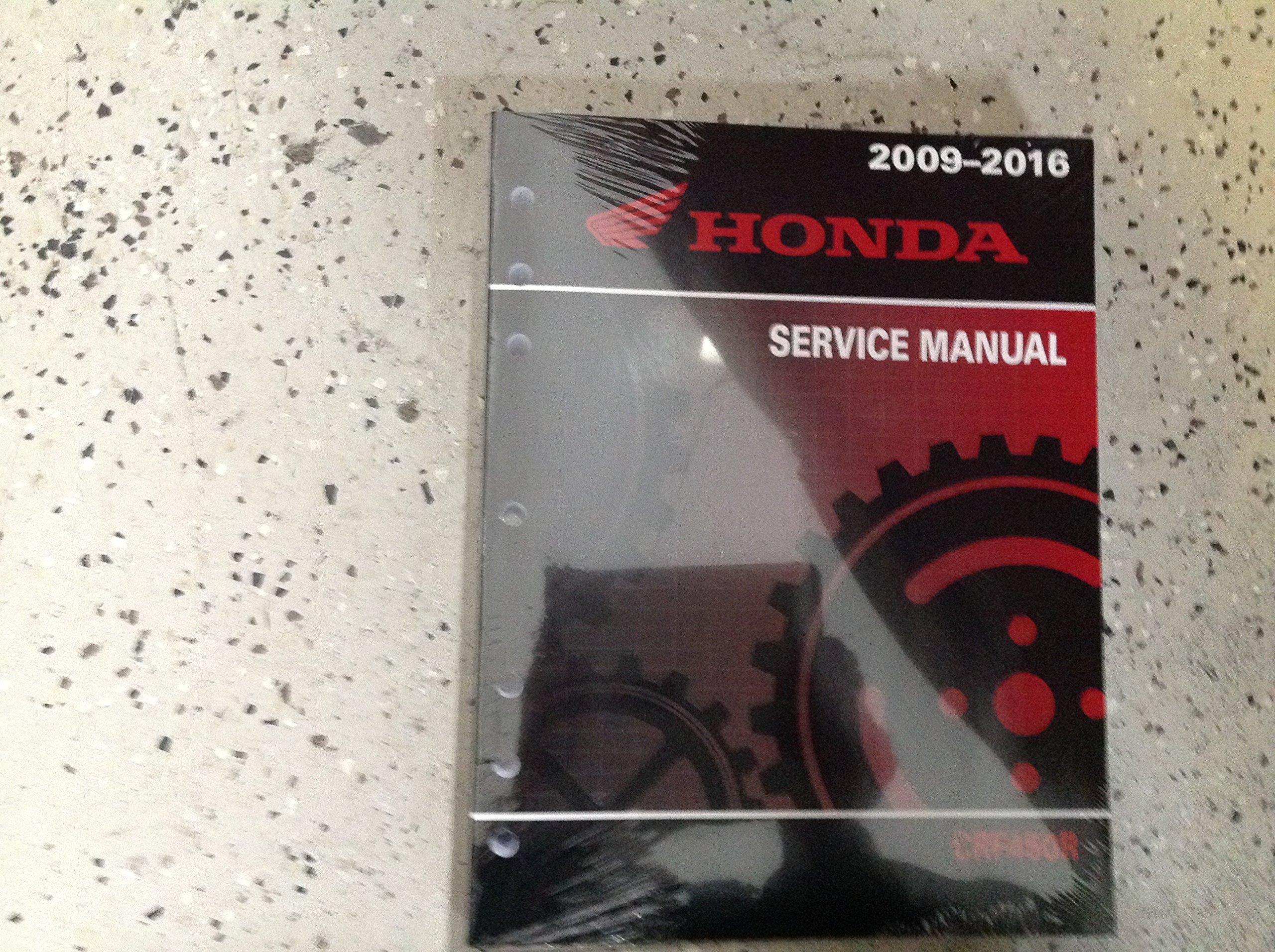 2014 2015 2016 HONDA CRF450R CRF 450 R Service Repair Workshop Shop Manual  NEW: HONDA: Amazon.com: Books