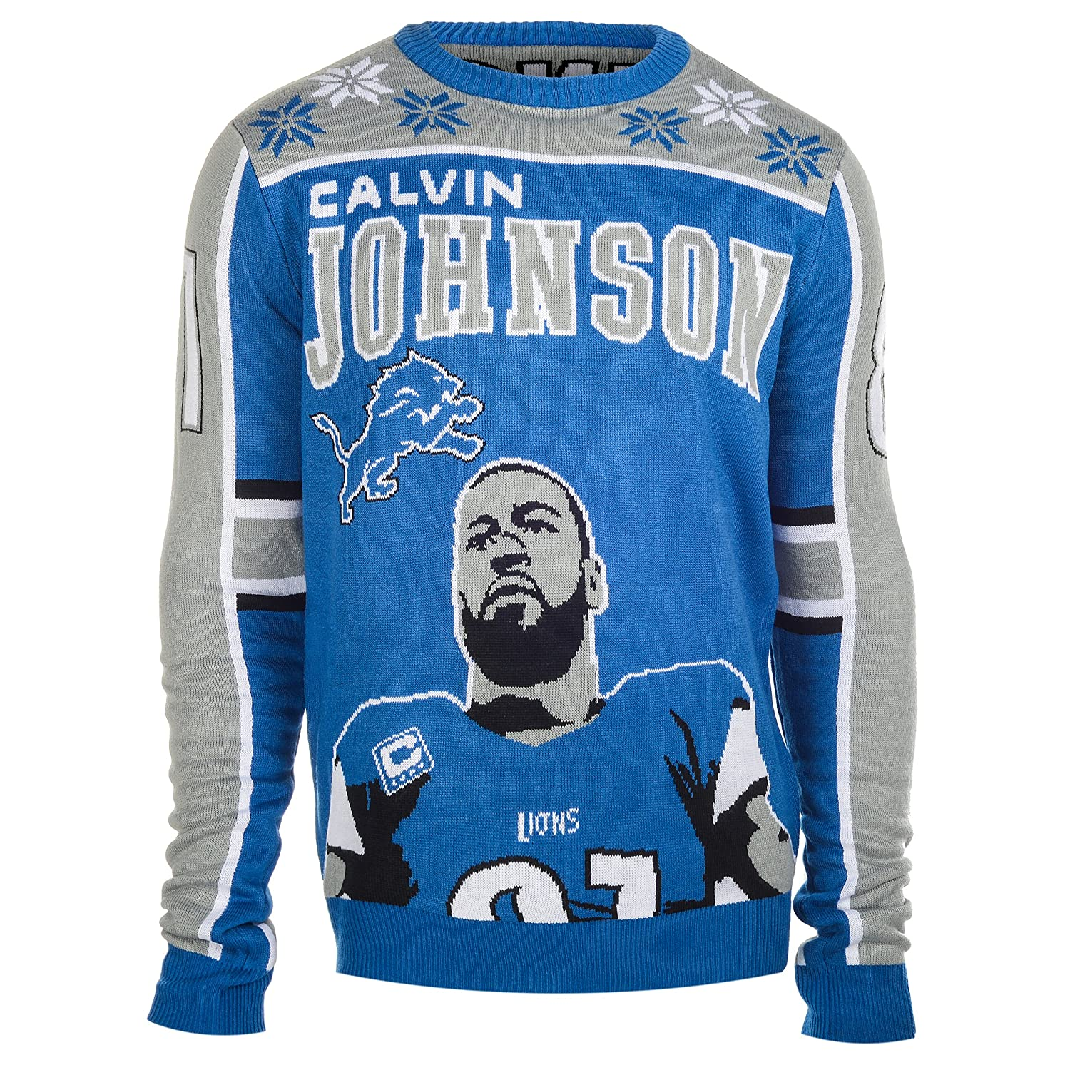 Amazon.com : NFL Football 2015 Player Holiday Ugly Sweater ...