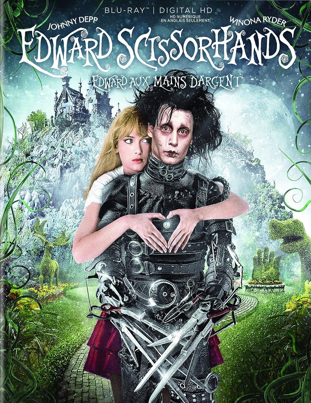 Amazon.com: Edward Scissorhands [Blu-ray + Digital HD]: Johnny Depp, Winona Ryder, Dianne Wiest: Movies & TV