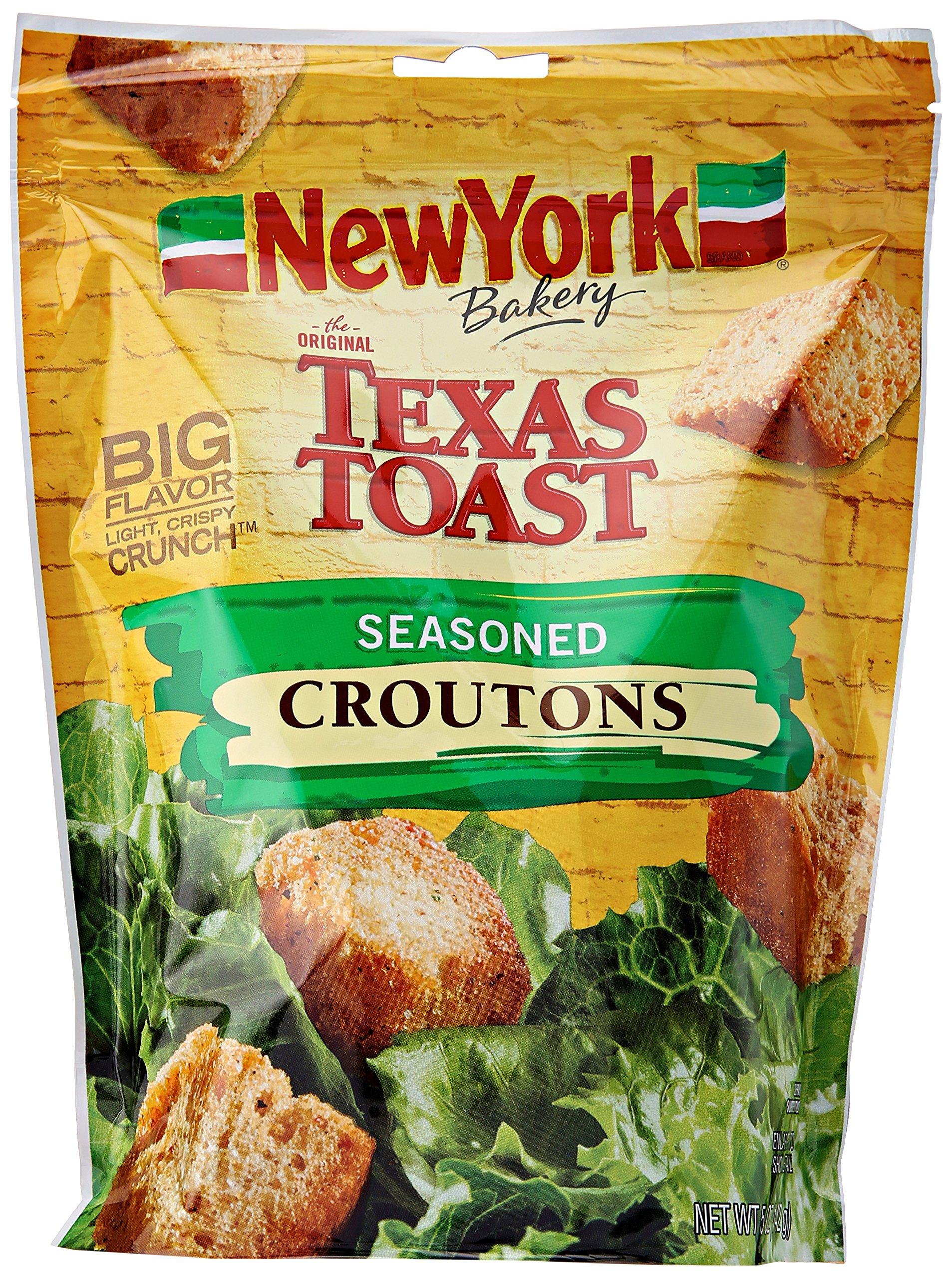 NEW YORK NY Seasoned Croutons, 5 oz
