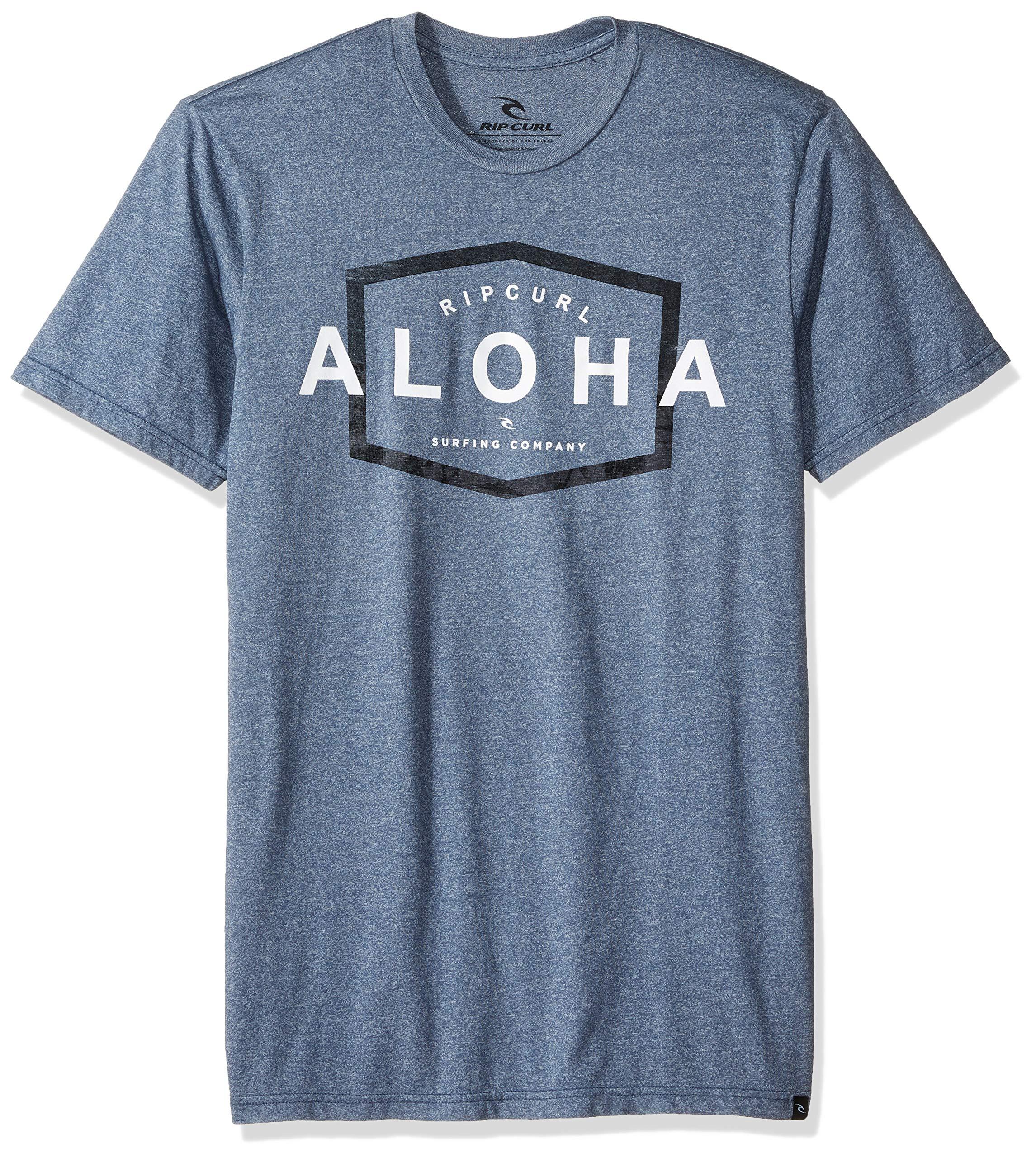 Rip Curl Aloha Co Mock Twist T Shirt 6550