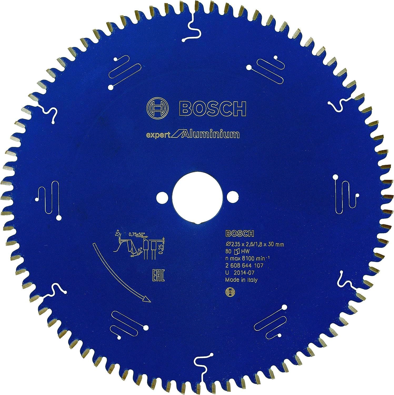 BOSCH 2608644107 - Disco de sierra circular CSB Expert Aluminium: 235x30x80D