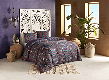 Blissliving Home Blissliving Marrakesh Berber Textile Duvet Set  Full/Queen,Multi,Full/