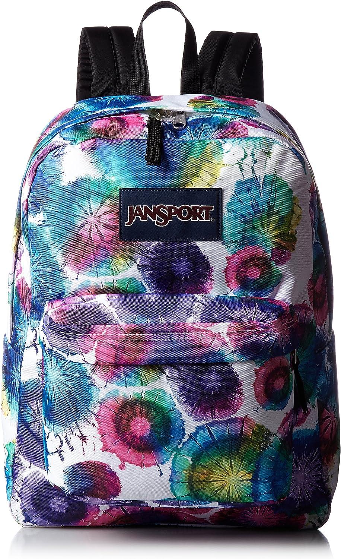 Jansport Superbreak Backpack Multi Tie Dye Swirl