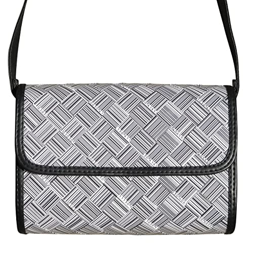 0d765ebe13 Amazon.com: Crossbody bag made from barcode labels - FREE SHIPPING ...