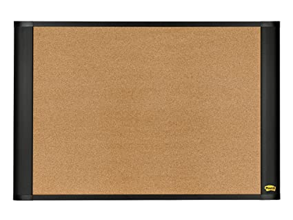 postit stickycork board widescreen graphitefinish 24 x cork boards for office1 for