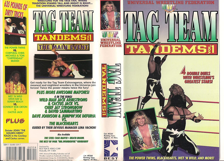 Amazon com: Tag Team Tandems [VHS]: Uwf Wrestling: Movies & TV