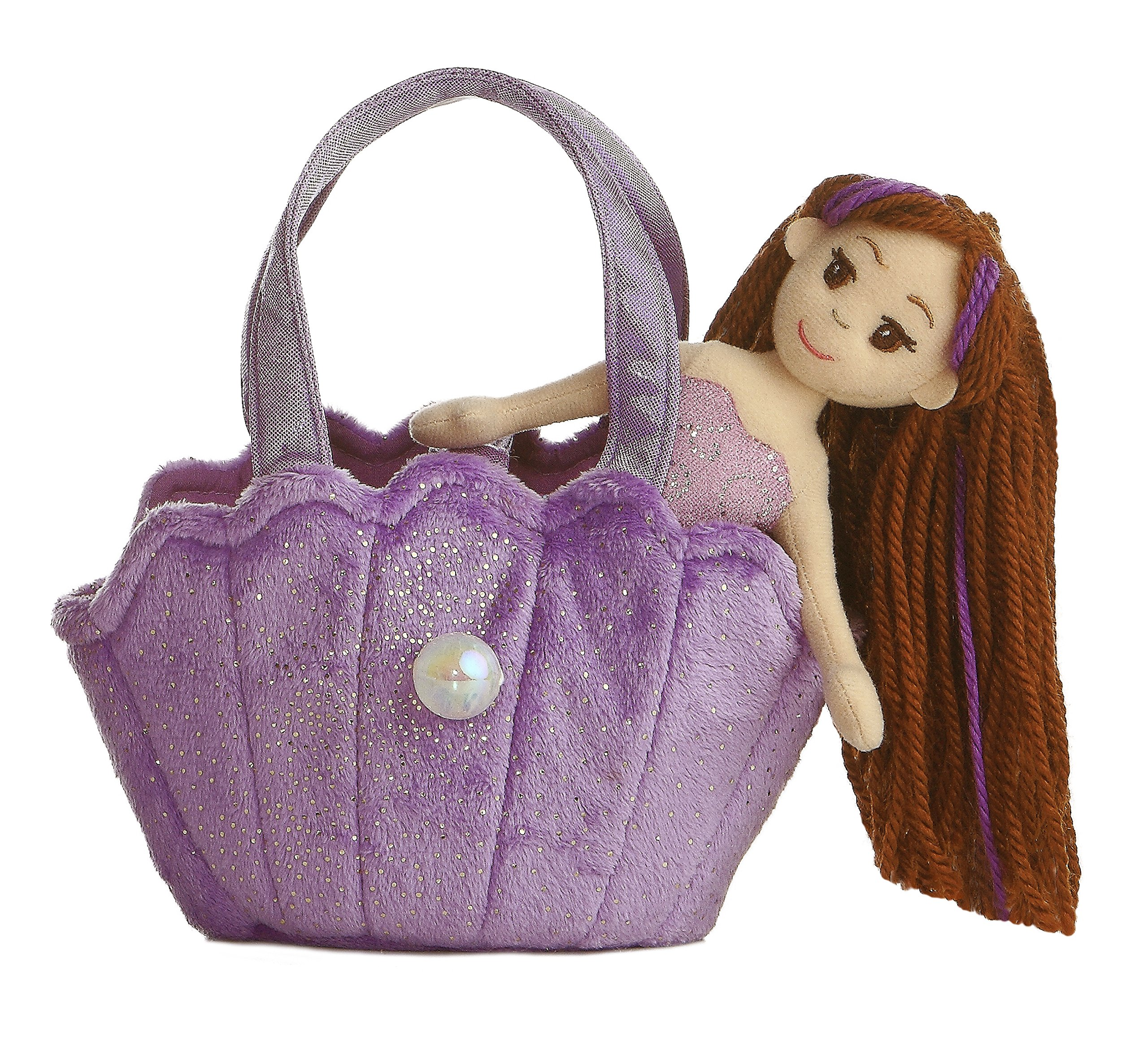 Aurora World Lavender Shell Fancy Pals Carrier