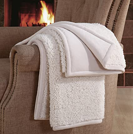 Well known Amazon.com: F&A Home Premium Quality Sherpa Throw Ultra Soft Warm  UD06