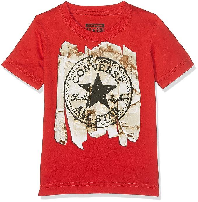 Converse Jungen Chuck Patch Tee T Shirt: : Bekleidung