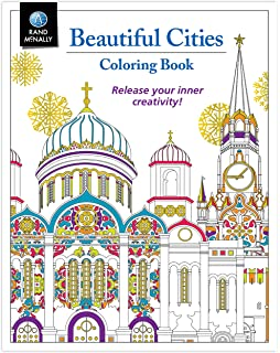 Adult Coloring Book Rand McNally Beautiful Cities