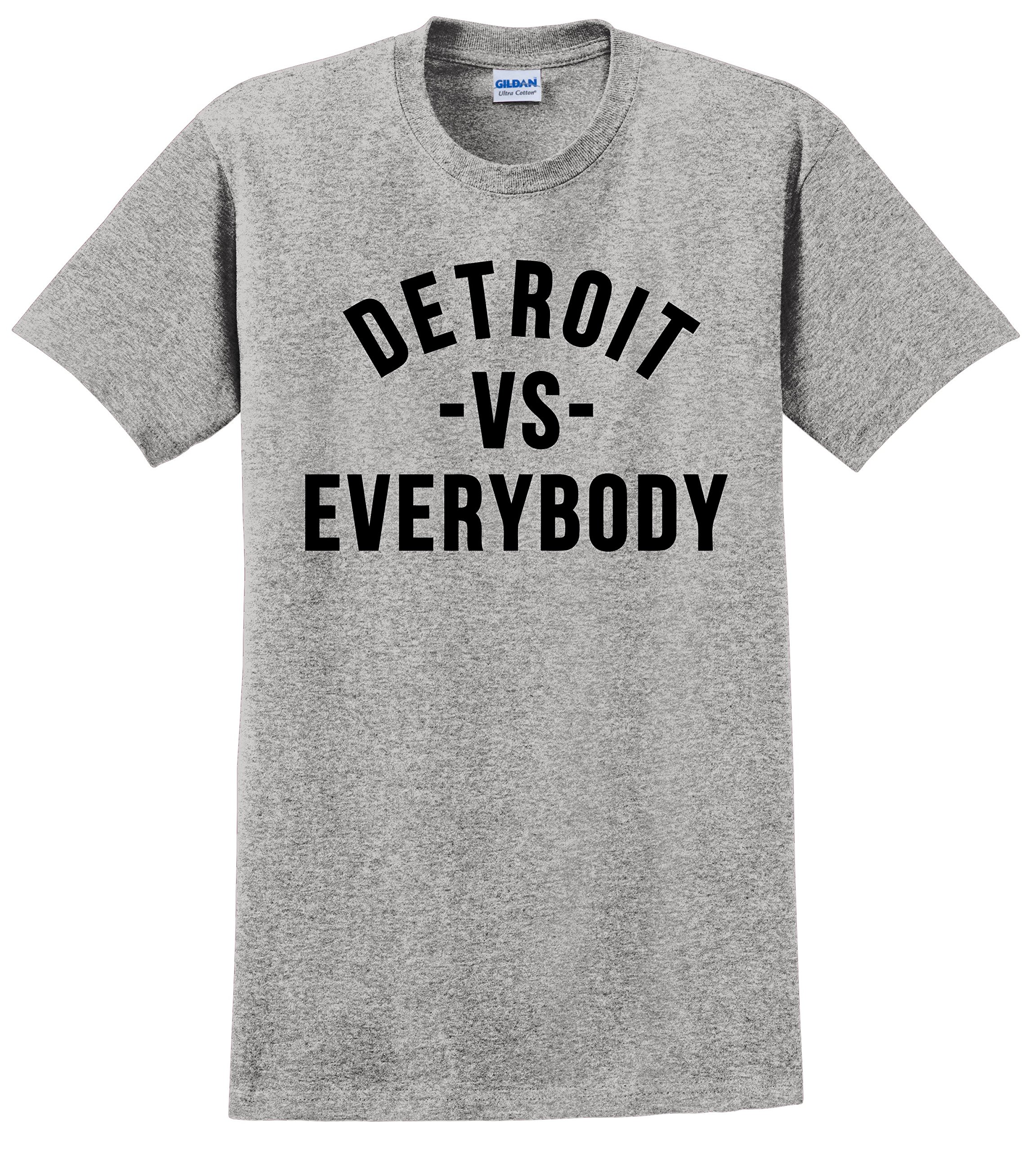 Detroit VS Everybody T Shirt No Love Eminem Big Sean Unisex Tee Shirts