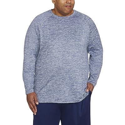 Essentials Men's Big & Tall Tech Stretch Long-Sleeve T-Shirt fit by DXL: Clothing