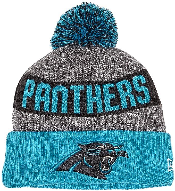 b6584b408 New Era Nfl Sideline Bobble Knit Carpan Otc - Cap line Carolina Panthers  for Man, color Blue, size OSFA: Amazon.co.uk: Sports & Outdoors