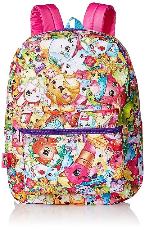 33d6956d055 Shopkins Little Girls Print Backpack, Multi, One Size  Amazon.ca ...