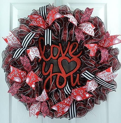 Amazon Com Valentines Wreath Wreath For Valentine S Day