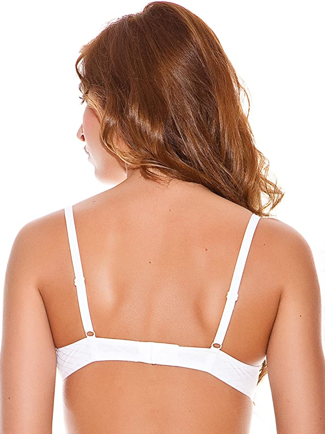 Evelyn Sujetador Push Up Essentialsa10 Blanco 85C: Amazon.es: Ropa y accesorios