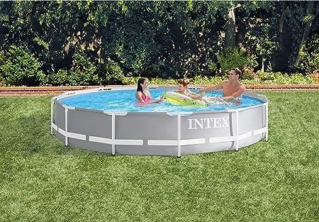 Intex 12FT X 30IN Prism Frame Pool Set Juego de Piscina con Marco ...