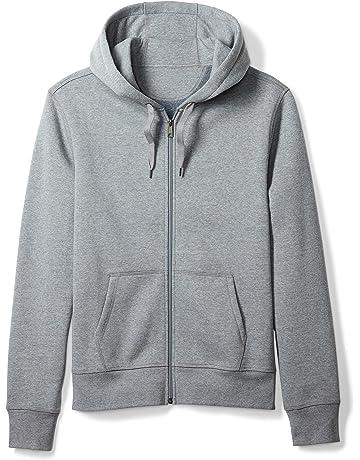 f0c215e0564245 Amazon Essentials Men s Full-Zip Hooded Fleece Sweatshirt