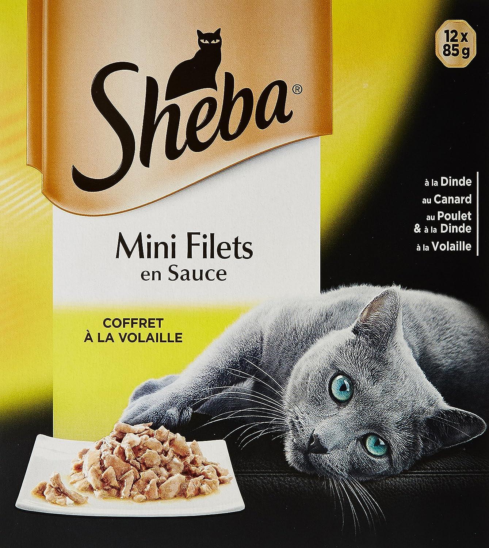 Sheba Coffret Océan Chat 4 x 85 g