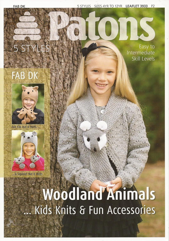 Coats Patons Woodland Pattern Book 3933