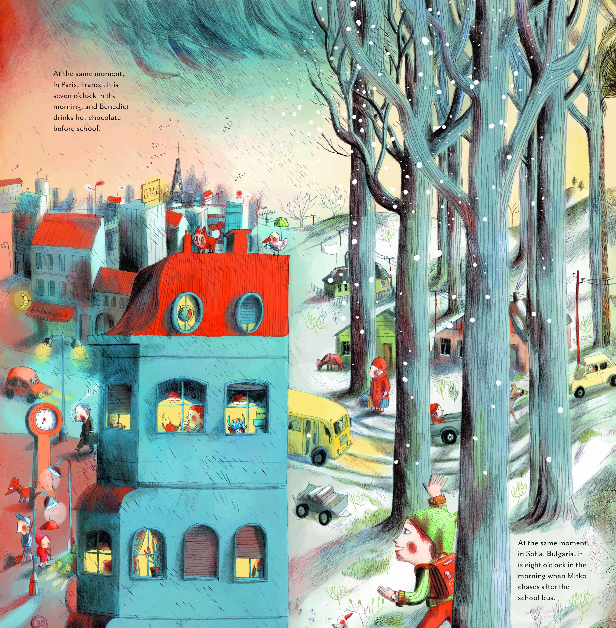At the Same Moment, Around the World: Clotilde Perrin: 9781452122083:  Amazon.com: Books