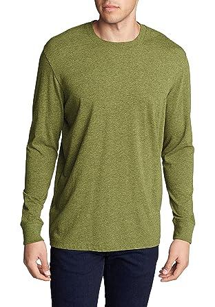 Eddie Bauer Herren Legend Wash T-Shirt - Langarm, Gr. S, Aloe