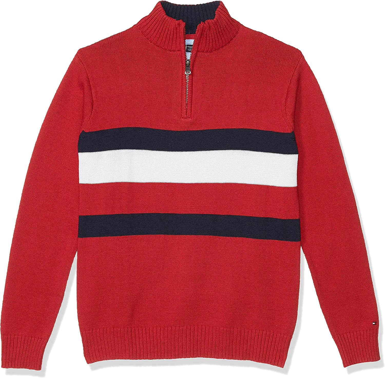 Tommy Hilfiger Kids Boys John Sweater Big Kids