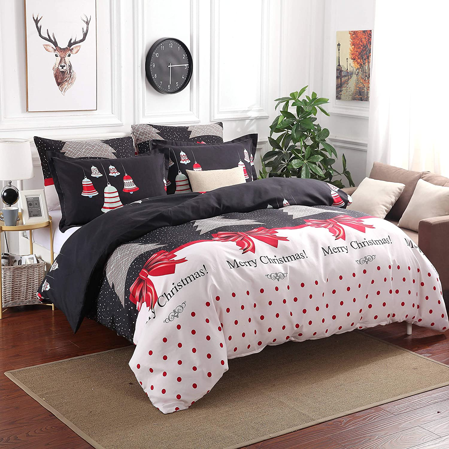Duvet Cover and Pillow Shams (California King)