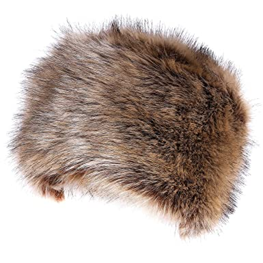 27fd6dfa Soul Young Women's Cossack Russion Style Faux Fur Hat With Stretch For  Winter Warm Cap(Nature): Amazon.co.uk: Clothing