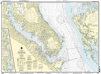 Amazon.com: 12264 -- Chesapeake Bay – Patuxent River y ...