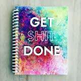 TrainRite Compact Fitness Journal - GET SHIT DONE (An Exercise Log Book)