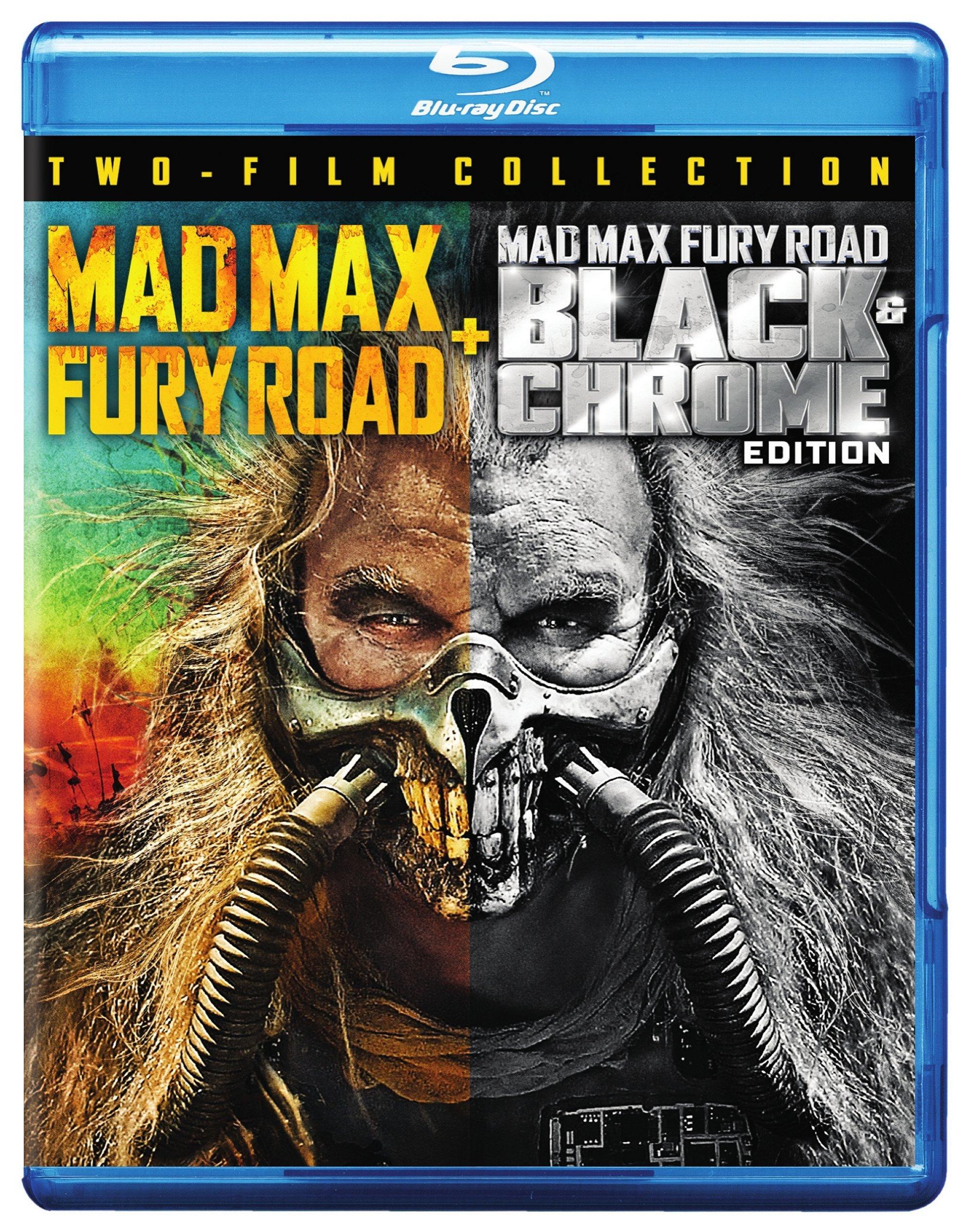 Blu-ray : Mad Max: Fury Road / Fury Road Black and Chrome (2 Pack, 2 Disc)