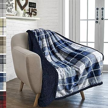 Amazon.com: PAVILIA - Manta para sofá, sofá, microfelpa ...