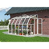 Rion 6x10ft Sun Room Conservatory – White