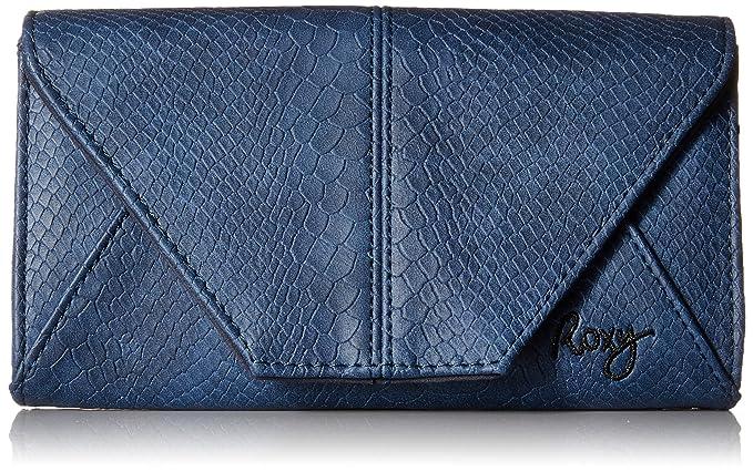Roxy - Cartera para mujer azul azul a cuadros S: Amazon.es: Ropa y accesorios