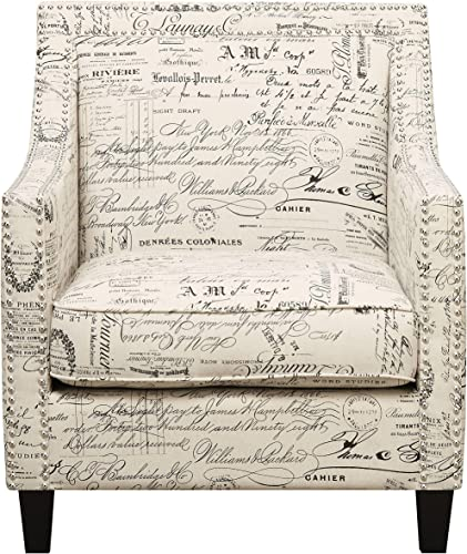 Picket House Furnishings Emery Chair French Script