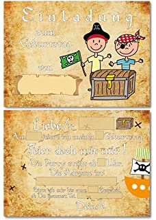 12 Einladungskarten Zum Kindergeburtstag Abenteuer Party