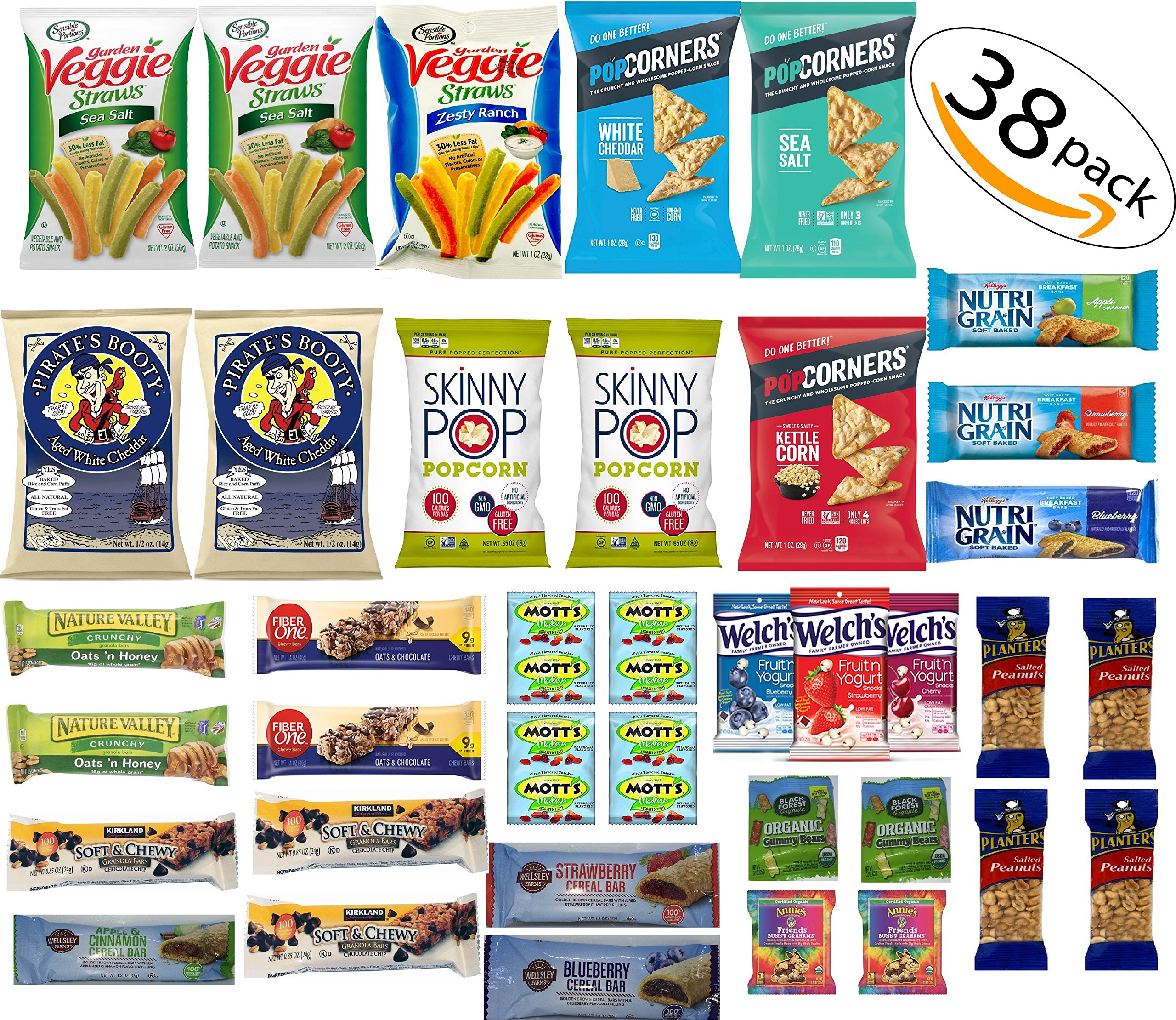 Healthy Snacks and Bars Variety Pack by Easy Pack