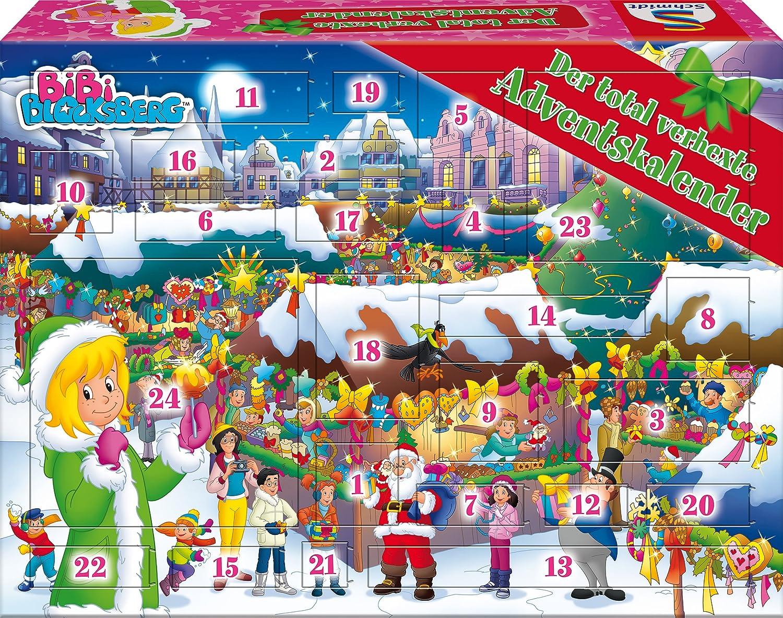 Schmidt Spiele Bibi Blocksberg Adventskalender Schmidt Spiele GmbH 40583 Weihnachten empfohlenes Alter: ab 5 Jahre